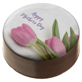 Tulips Happy Mother's Day Chocolate Covered Oreo