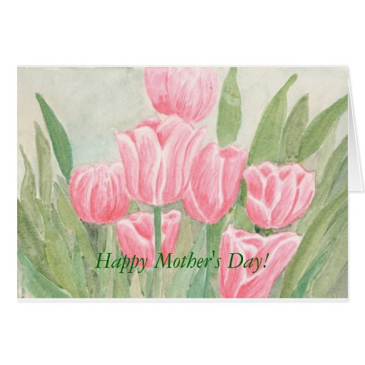 Tulips, Happy Mother's Day! Greeting Card
