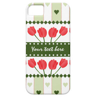 Tulips & Hearts iPhone Case-Mate iPhone 5 Cover