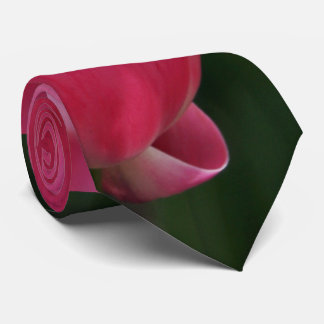 Tulips In A Pink Dress Tie