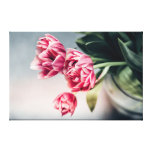 Tulips in a Vase 2 Canvas Print