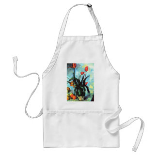 'Tulips in a Vase' Adult Apron