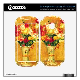 Tulips in a Vase by Pierre Renoir Samsung Continuum Decals