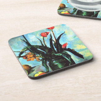 'Tulips in a Vase' Coaster