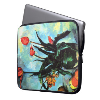 'Tulips in a Vase' Laptop Sleeve