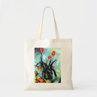 'Tulips in a Vase' Tote Bag