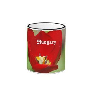 Tulips in Hungary Mugs