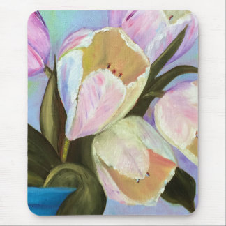 Tulips in pot I Mouse Pad