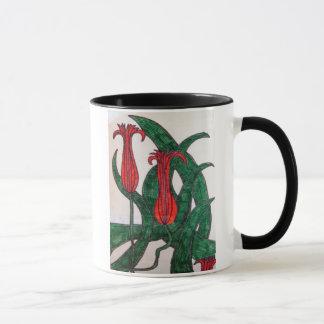 Tulips in red Mug