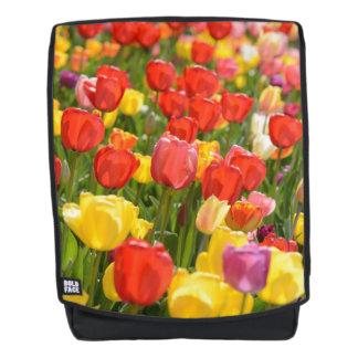 Tulips in the Garden Backpack