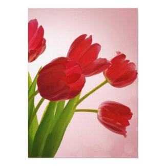 Tulips Custom Invites