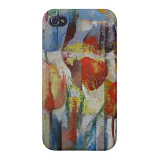 Tulips iPhone 4 Covers