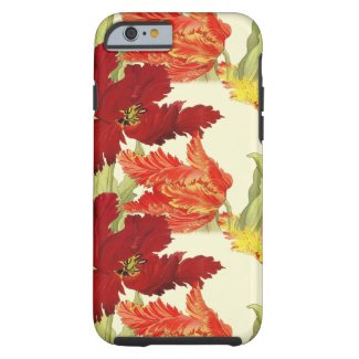 Tulips iPhone 6/6s, Battery Case