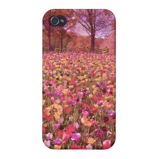 Tulips Case For iPhone 4