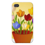 Tulips iPhone Case 4 Cover For iPhone 4