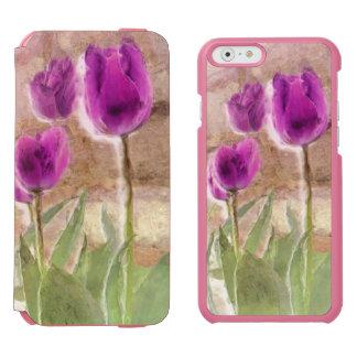 tulips iPhone folio wallet case Incipio Watson™ iPhone 6 Wallet Case