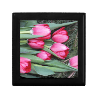 tulips jewelry box