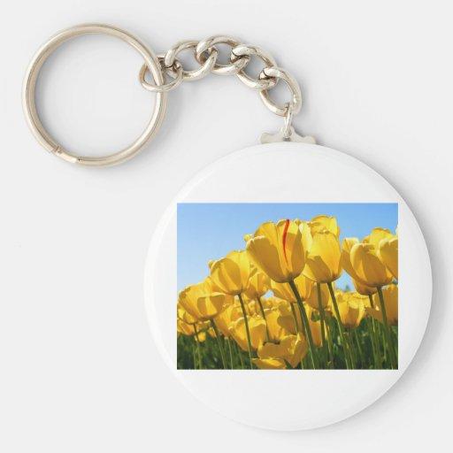 Tulips.jpg Keychain
