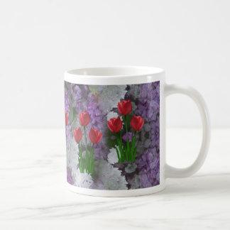 Tulips Lilacs Coffee Mugs