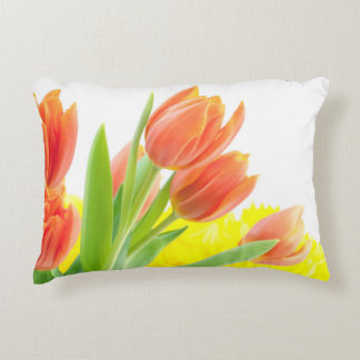 tulips accent pillow