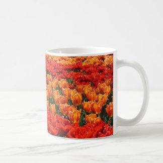 Tulips Classic White Coffee Mug