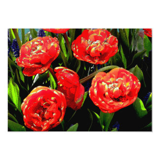 Tulips of Many Petals Card