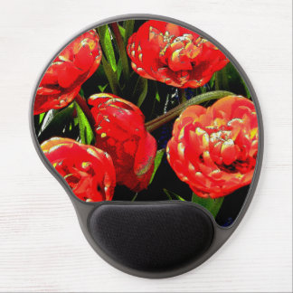 Tulips of Many Petals Gel Mouse Pad