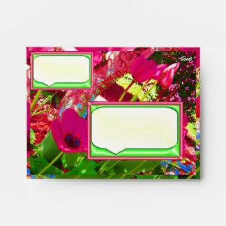 Tulips Painting Envelope