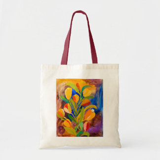 Tulips painting in acrylic by Kay Gale Tote Bag