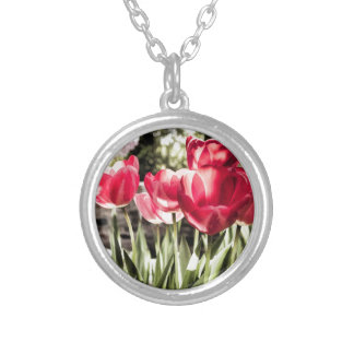 Tulips Personalised Necklace