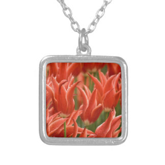 Tulips Personalized Necklace
