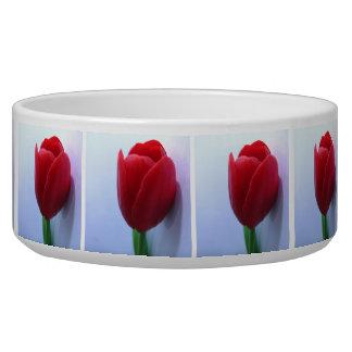 Tulips Pet Bowl Dog Food Bowl