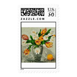 tulips postage