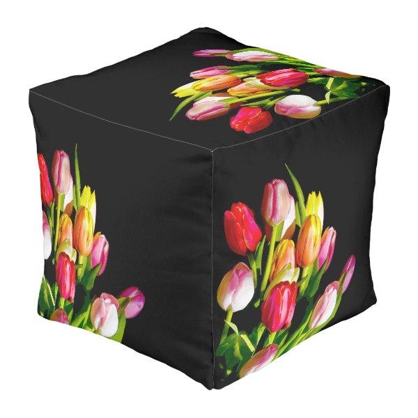 Tulips Pouf