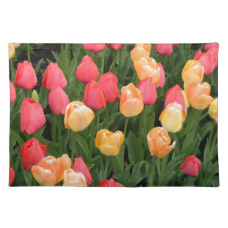 Tulips (Red & Gold) Placemat
