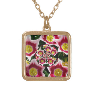 Tulips (Reflection Effect) Necklace
