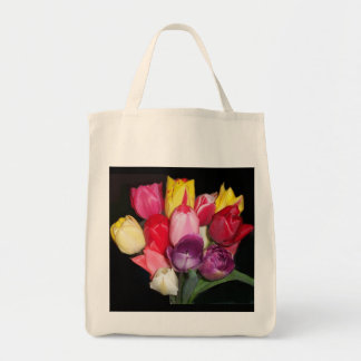 Tulips Says it All Tote Bag