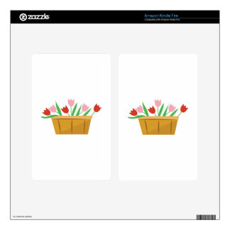 Tulips Kindle Fire Decals