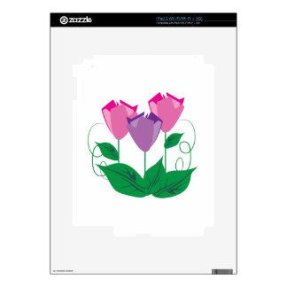 Tulips Skin For iPad 2