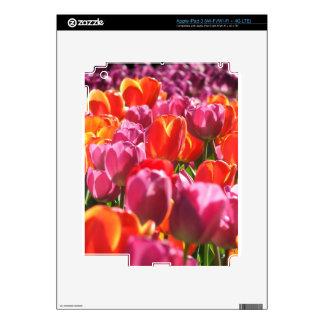 Tulips Skin For iPad 3