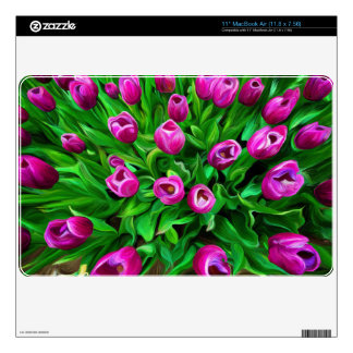 "Tulips Skin For 11"" MacBook Air"