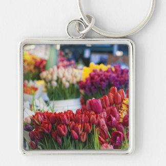 Tulips-Street Market Keychain