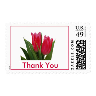 Tulips Thank You Postage