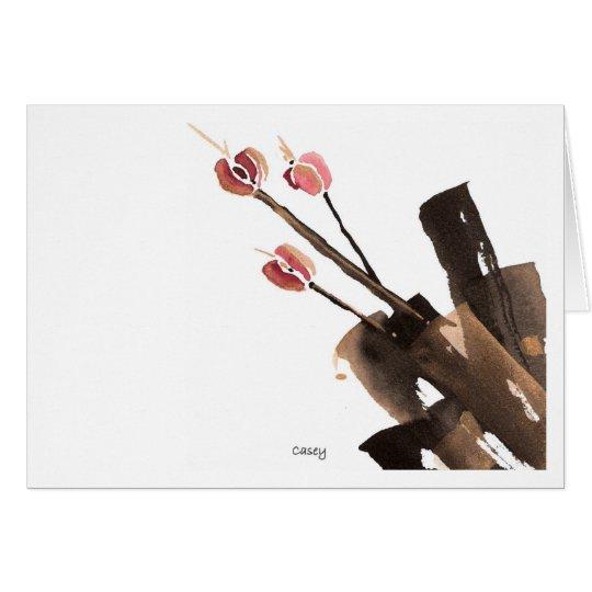 Tulips Three  Card