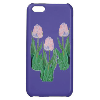 Tulips Three-Pink iPhone 5C Cover