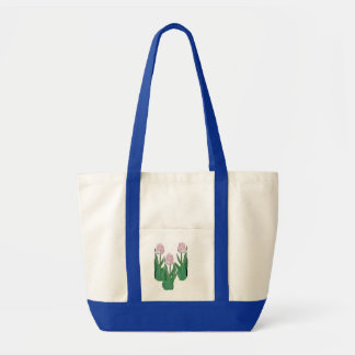 Tulips Three-Pink Tote Bag