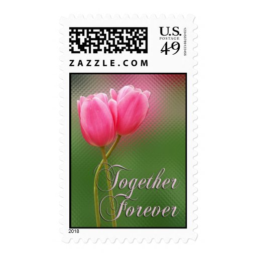 Tulips together ... stamps