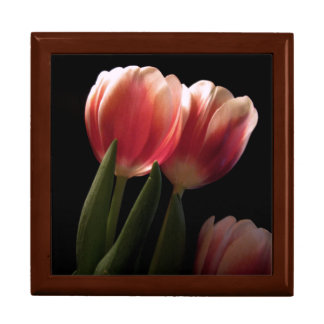 tulips trinket boxes