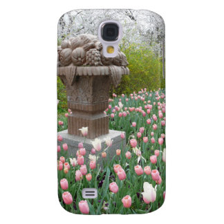Tulips with Fruit Bowl Sculpture Samsung Galaxy S4 Cases