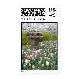 Tulips with Fruit Bowl Sculpture Postage